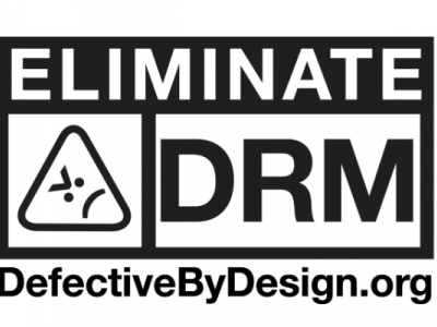 Logo dell'International Day Against DRM