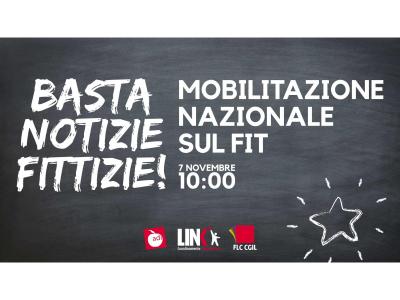 7 novembre, mobilitazione nazionale sul FIT