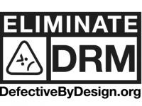 Logo dell'International Day Against DRM