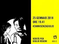 2 anni senza Giulio: ADI e Amnesty in piazza il 25 gennaio per chiedere verità e giustizia