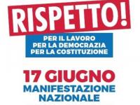 Logo della manifestazione nazionale contro i voucher